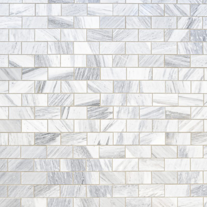 Parement marbre blanc & grey